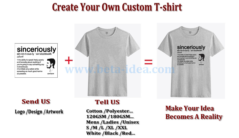 Make Your Own Custom Shirt Our T Shirt