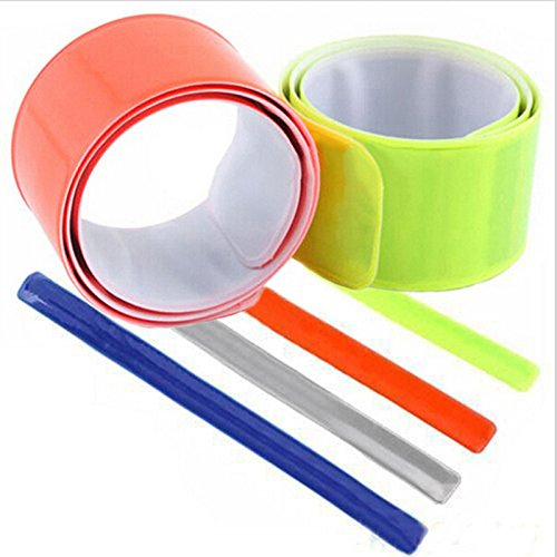Reflective Slap Wrap Bracelets